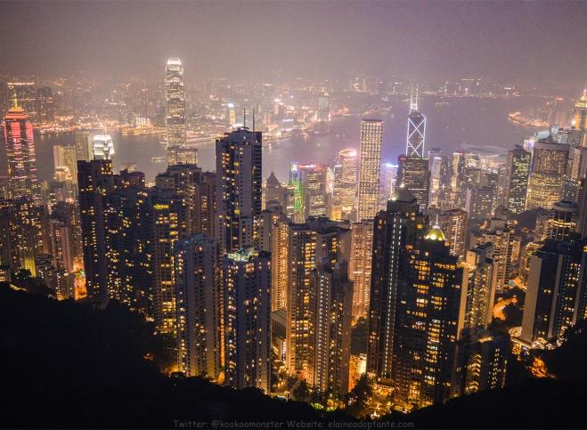 Victoria Peak, Hong Kong - 22 August 2016 - Published Copy